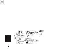 Ommelaine Vicryl  5-0 FS-3
