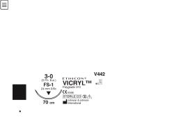 Ommelaine Vicryl 3-0 FS-1  neu