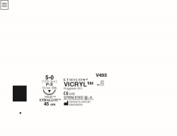 Ommelaine Vicryl 5-0 P-3
