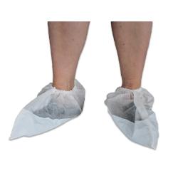 Kenkäsuojus muovi/kuitukangas