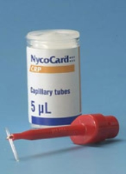 Kapillærrør CRP NycoCard