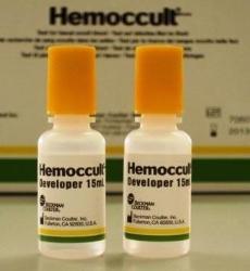 Test faeces-Hb Hemoccult
