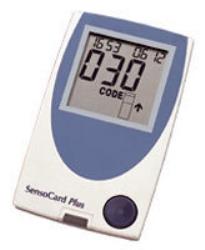 Blodsukkermåler SensoCard Plus for synshemmede