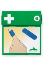 Plaster plast blå detectable