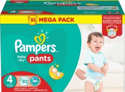 Pampers Pants S4 -housuvaippa
