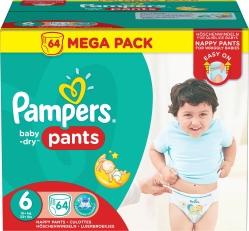 Lastenvaippa Pampers Pants S6