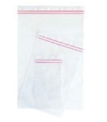 Muovipussi sulkimella n. 0,3 litraa