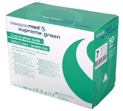 Leikkäsine Supreme Green latex